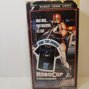 RoboCop Men's T-Shirt Funko VHS Boxed